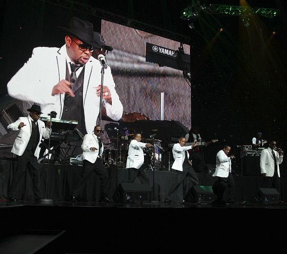 New Edition Kicks Off Their Opening Performance for the 2012 Ford Hoodie Awards Hosted By Steve Harvey