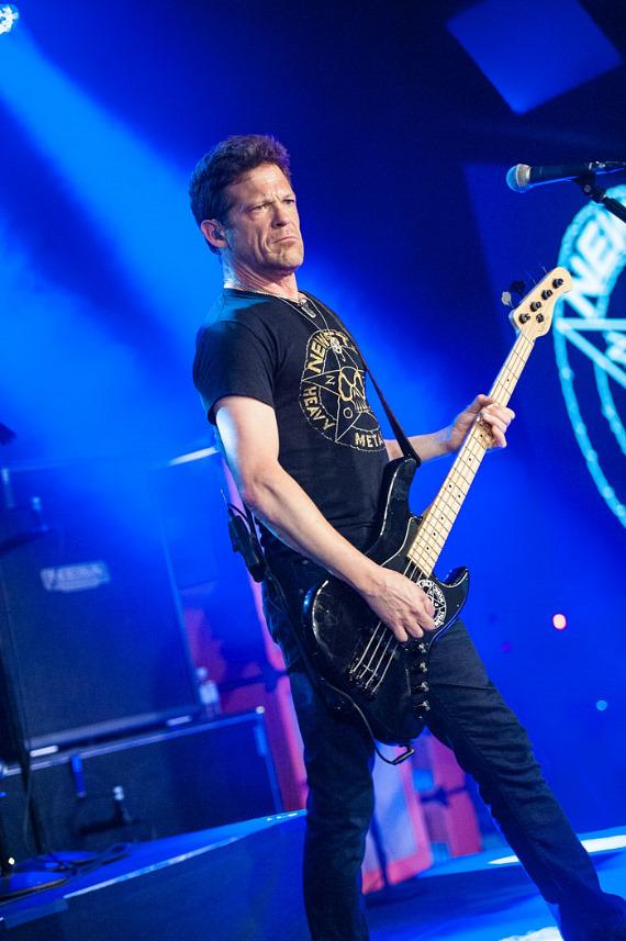 Newsted performs at Vinyl Las Vegas at Hard Rock Hotel & Casino