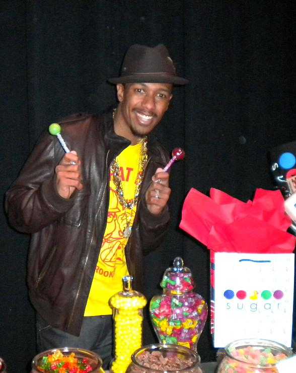 Nick Cannon celebrates his 30th birthday with Sugar Factory sweets