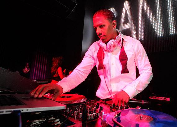 Resident DJ Nick Cannon spins for Chateau Nightclub & Gardens