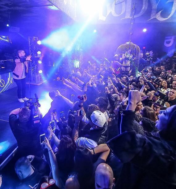 Nick Jonas performs to a sold-out crowd at SLS Las Vegas