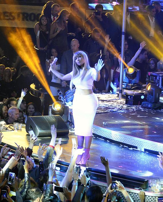 Nicki Minaj performs at Drai's Nightclub Las Vegas