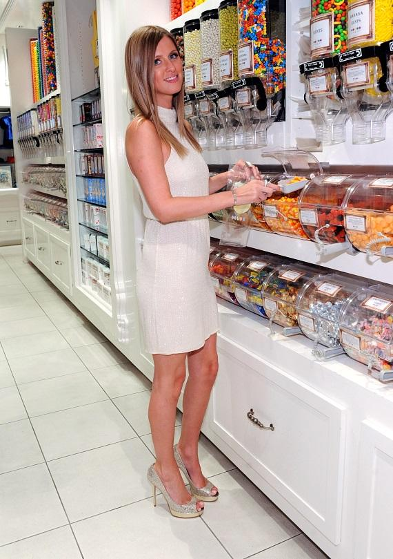 Nicky Hilton shops for sweets at Sugar Factory's flagship retail store