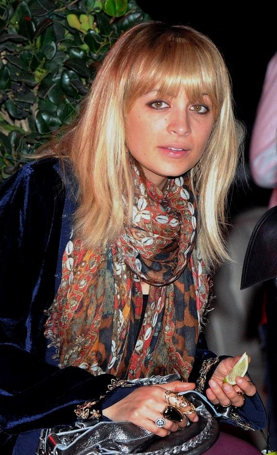 Nicole Richie in the audience at Good Charlotte's performance at Chateau Nightclub & Gardens