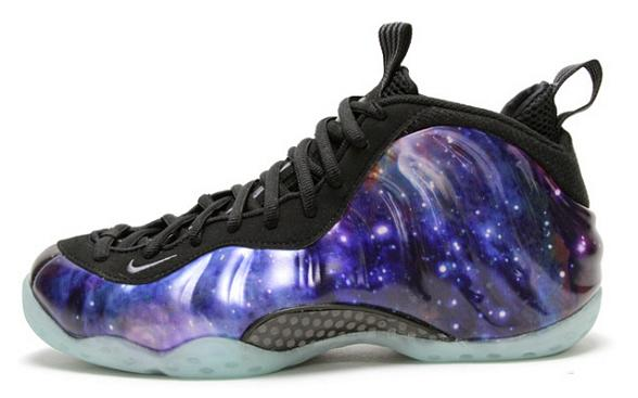Nike's Galaxy Foamposite Shoes