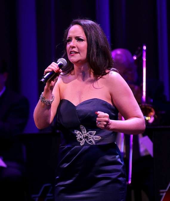 "Niki Scalera performs in ""Christmas at My Place"" at The Smith Center in Las Vegas"