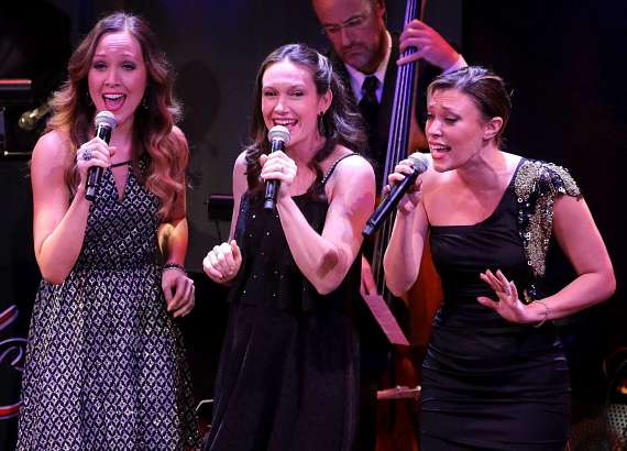 "Nikka Wahl, Sarah Lowe and Lauren Tartaglia Guivas perform in ""Christmas at My Place"""