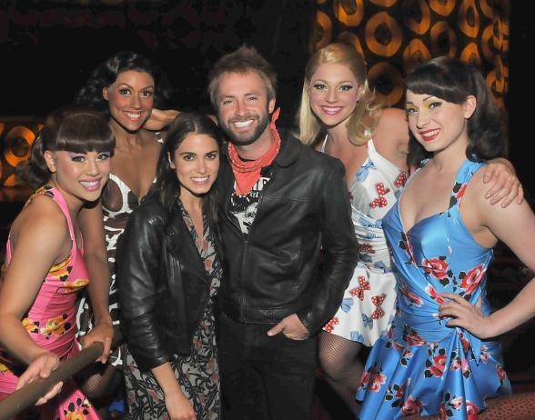 Nikki Reed & Paul McDonald at Viva ELVIS