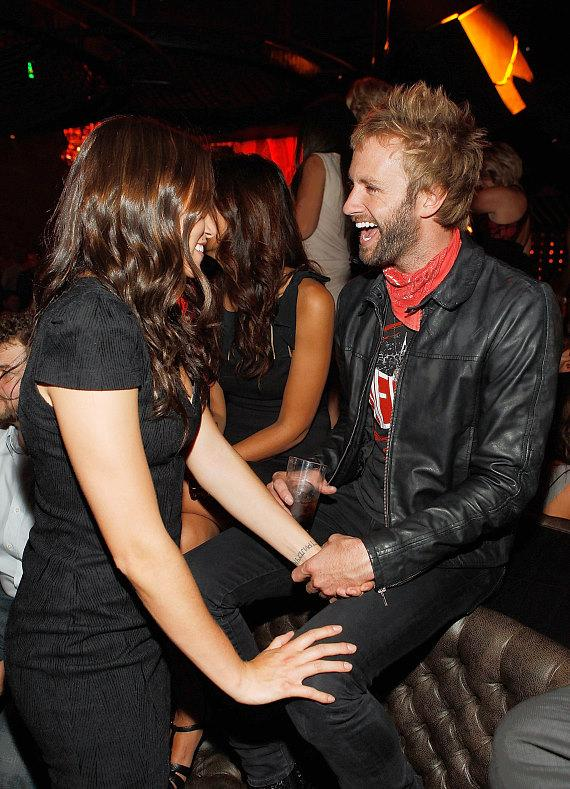 Nikki Reed and Paul McDonald celebrate her birthday at Gallery Nightclub