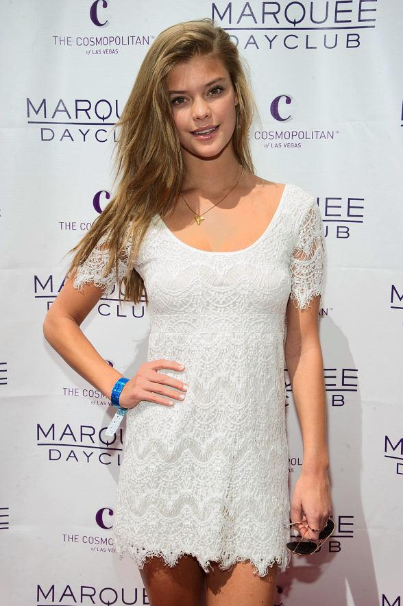 Sports Illustrated Model Nina Agdal at Marquee Dayclub