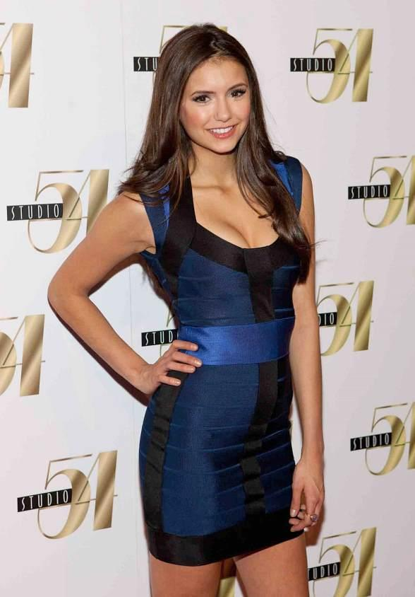 Vampire Diaries Cast Celebrates Nina Dobrev's 21st Birthday at Studio 54