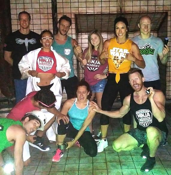 America Ninja Warriors compete at SAW Escape Experience in Las Vegas