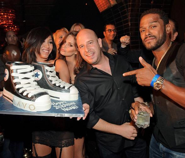 Noah Tepperberg Celebrates Birthday at LAVO Las Vegas