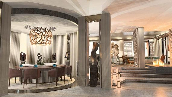 The Nobu Villa will open at Nobu Hotel Caesars Palace early 2014 offering a 4,700 square-foot outdoor terrace that will showcase unparalleled views of the Las Vegas Strip including The LINQ and the 550-foot-tall High Roller, also opening in 2014