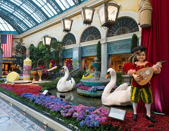 Italian-Inspired Summer Display Brings Lush Gardens, Lemon Groves and Lots of Romance to Bellagio's Conservatory & Botanical Gardens