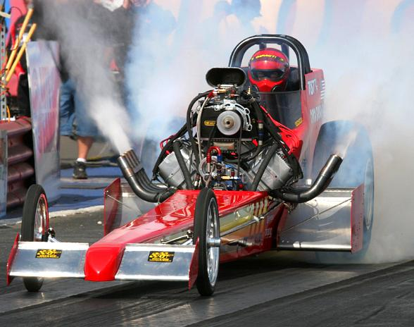 Nostalgia Top Fuel Dragster