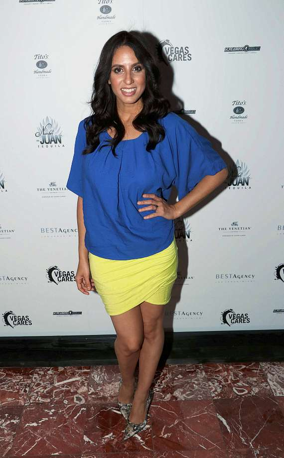 "Noybel Gorgoy at ""Vegas Cares"" Benefit at The Venetian Las Vegas"