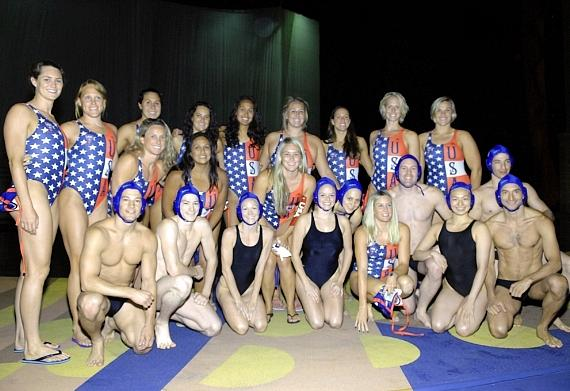 """Team USA at the """"O"""" Theater"""