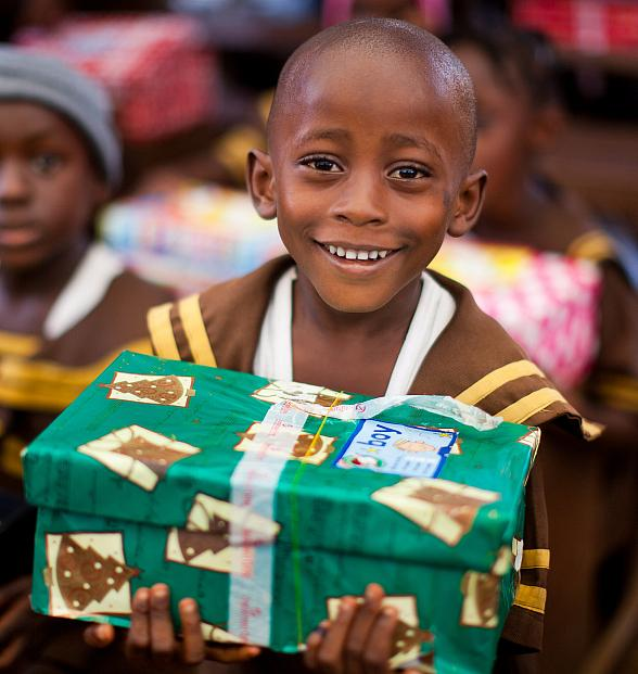 Virtual Shoeboxes Become Tangible Gifts for Children In Need