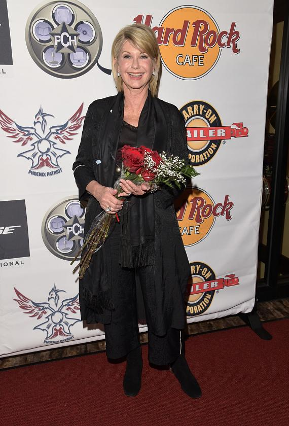 Ms. Olivia Newton John was honored with the Las Vegas Fame Icon Award