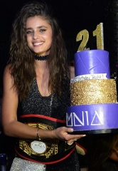 Victoria's Secret Model Taylor Hill Celebrates 21st Birthday at OMNIA Nightclub