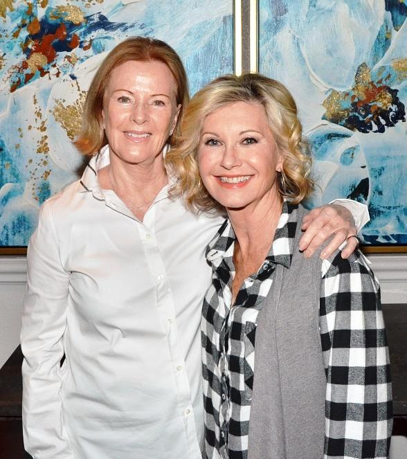 "ABBA Singer Anni-Frid Lyngstad attends Olivia Newton-John ""Summer Nights"" at Flamingo Las Vegas"