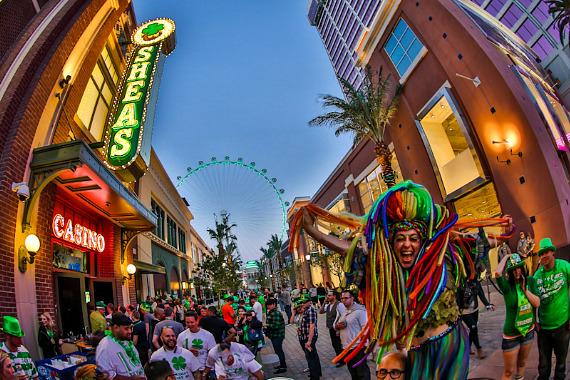 O'Sheas St. Patty's Day festivities continue into the night