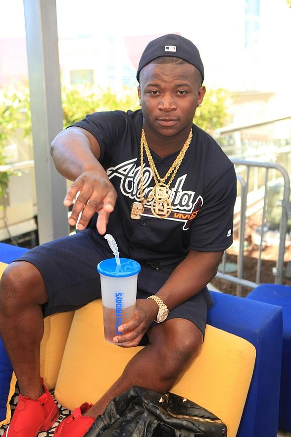 Rapper OT Genasis Celebrates Birthday with Over-The-Top Performance at Ditch Friday at Palms Pool & Dayclub