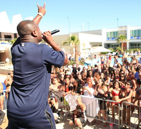 OT Genasis performs at Ditch Fridays