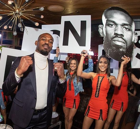 Jon Jones Post-Fight Party Returns to On The Record Speakeasy and Club at Park MGM in Las Vegas July 6
