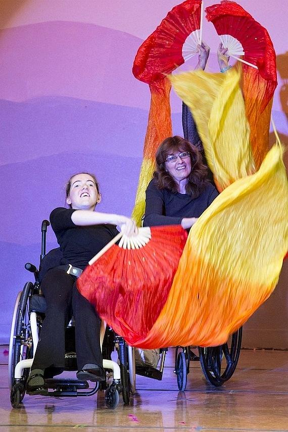 Opportunity Village OVIPs showcased their talents through a variety of routines at the annual OVation Concert at Opportunity Village's Ralph and Betty Engelstad Campus.