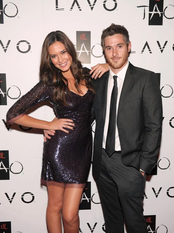 Odette Yustman & Dave Annable at LAVO