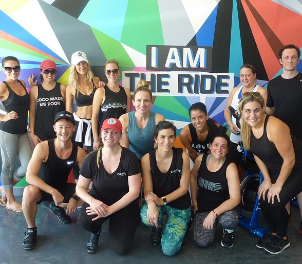 The Ride Indoor Cycle Charity Bike Event Supports Olive Crest