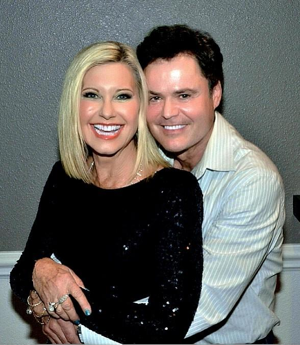 "Donny Osmond attends Olivia Newton-John's ""Summer Nights"" at Flamingo Las Vegas"