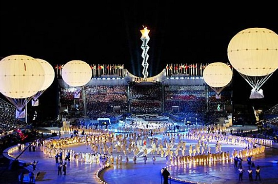Parabounce featured on NBC's Today Show, in closing ceremonies of 2002 Winter Olympics