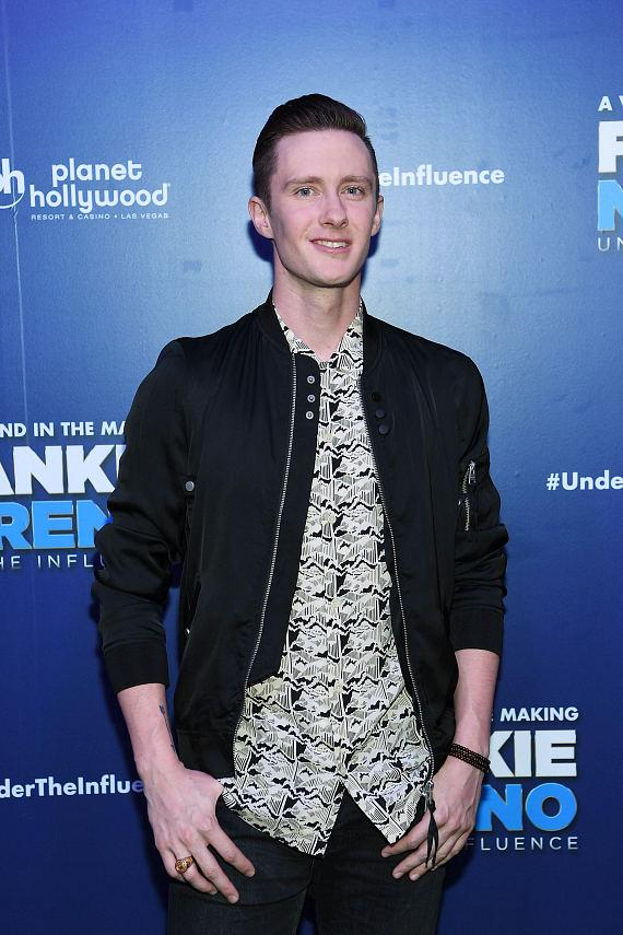 Olympic Figure Skater Jeremy Abbott at Opening Night of FRANKIE MORENO - UNDER THE INFLUENCE at Planet Hollywood Resort & Casino