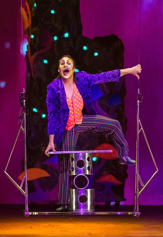 'One Night for ONE DROP' imagined by Cirque du Soleil at The Smith Center