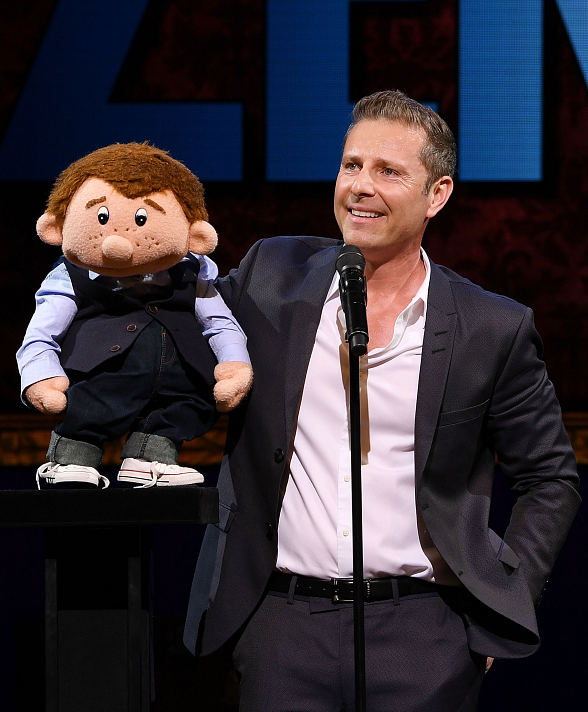"""Paul Zerdin: Mouthing Off"" Grand Opening at Planet Hollywood attracts"
