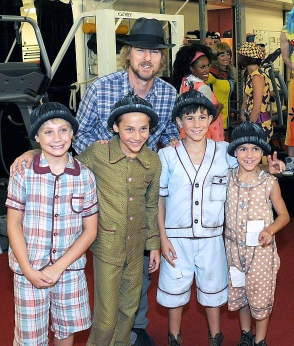 "Academy Award Nominated Actor Owen Wilson Spotted at ""The Beatles LOVE"" by Cirque Du Soleil"