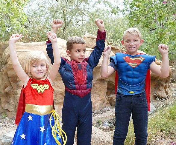 Superhero Summer Send-off at Springs Preserve; Free Admission August 20–21