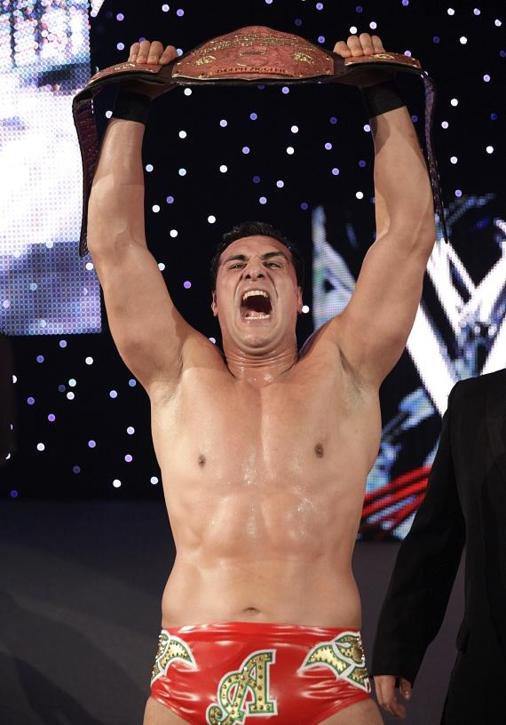 World Heavyweight Champion Alberto Del Rio