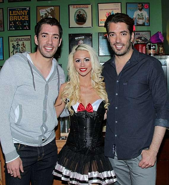 Chloe Crawford With The Property Brothers Jonathan Drew Scott