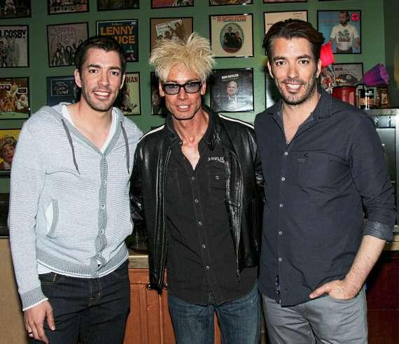 Murray SawChuck with the Property Brothers, Jonathan & Drew Scott