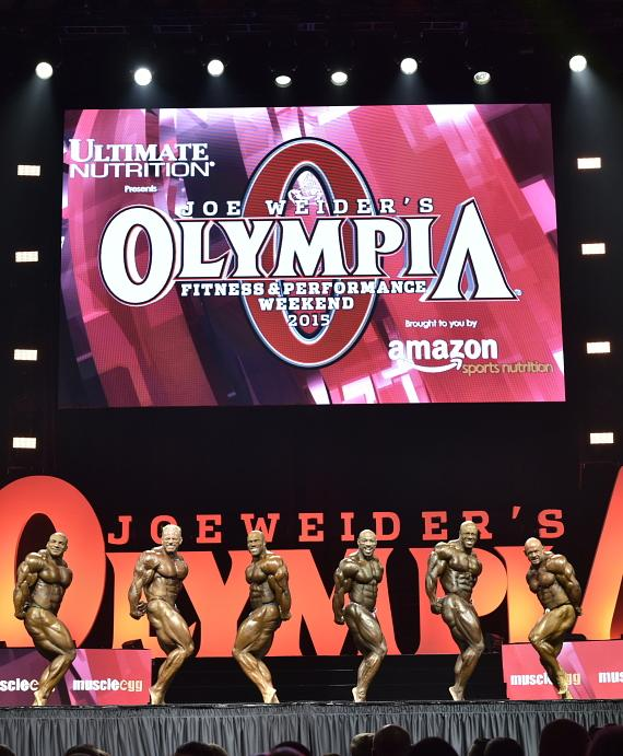 Joe Weider's IFBB Olympia Fitness & Performance Weekend Brings Bodybuilding Legends to the Orleans Arena Sept. 15-17