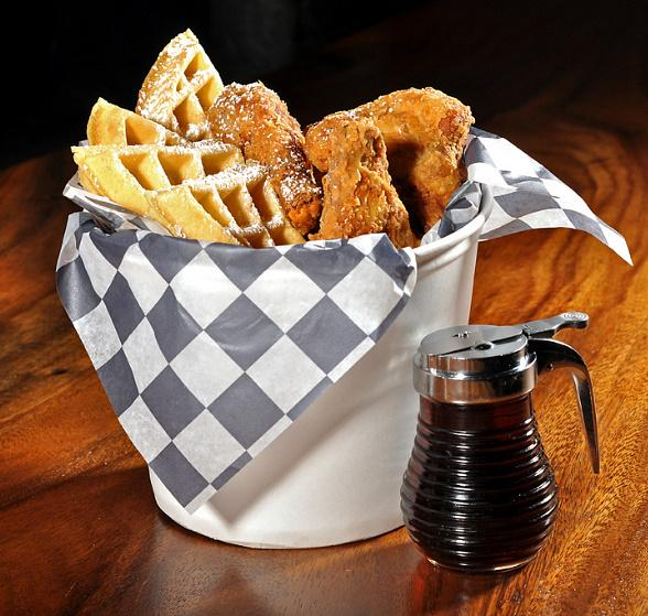 PBR Chicken and Waffles