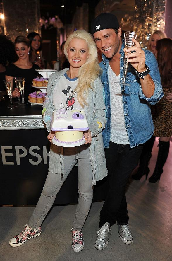 Holly Madison and Josh Strickland - PEEPSHOW Celebrates 1,000 shows