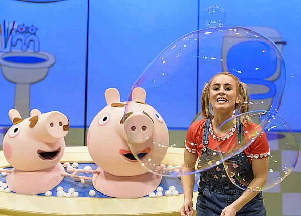Peppa Pig Live Adds 33 Tour Dates in 2018; 'Peppa Pig's Surprise' Live Stage Show to Visit Las Vegas on April 8, 2018