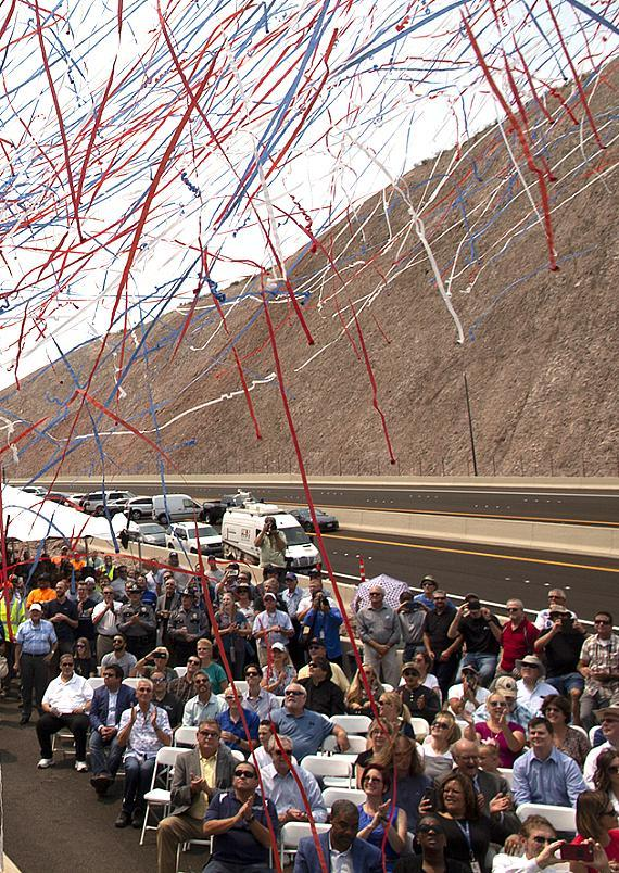 Nevada Creates 'Connections' with Historic I-11 First-Phase Opening RTC, NDOT 15-Mile Project to Save Motorists Travel Time; Eventually Connect Las Vegas to Phoenix