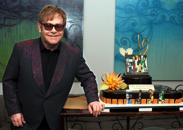 Elton John Celebrates 3,000th Live Public Performance