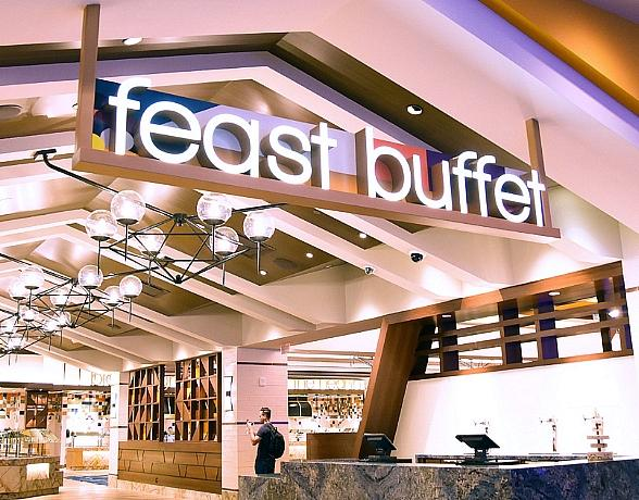 Palace Station Las Vegas Unveils All-New Contemporary Feast Buffet